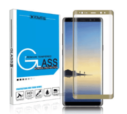 Samsung Samsung Full 3d Glass Protector For Samsung Note 8 - Gold