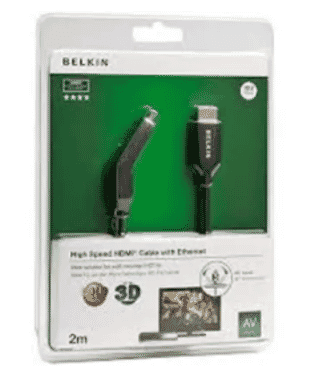 Belkin 2m Gold-plated High-speed Hdmi Cable With Ethernet