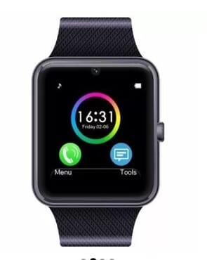 Universal GT08 Android Smart Watch - Black