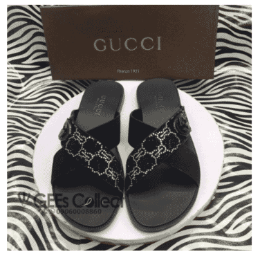Italian Men's Gucci Pam Slippers