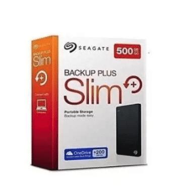 Seagate Storejet External USB 3.0 Hard Drive - 500gb