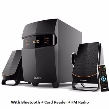 Havit Multimedia Woofer Speakers With Bluetooth + Card Reader + FM Radio