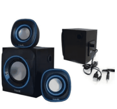 Havit Multimedia 2.1pcs Speaker - Black - Hv - Sk450