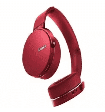 Sony Sony Extra Bass Bluetooth Headphones - MDR-XB950BT/R - Red