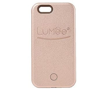 LuMee IPhone 6/6s Selfie Light Case - Rose Gold