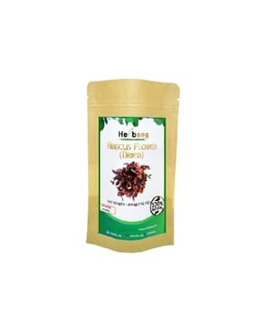 Herbsng Organic Dried Hibiscus Flower (100grams)