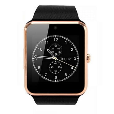 Generic GT08 GSM SIM Android Smart Watch - Gold