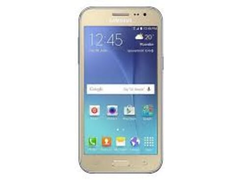 Samsung Galaxy J2 - 8GB - 1GB RAM - Gold + 16GB Memory Card