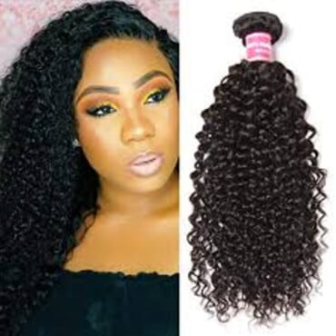 Kinky Curly Virgin Hair Kinky Hair With frontal 12 Inches
