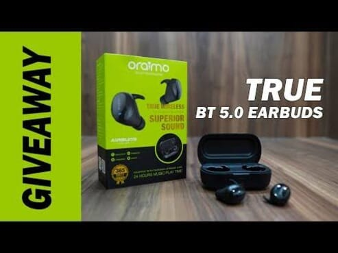 Oraimo Smart Airbuds True Wireless Stereo Earbuds Oeb-e99d - Black