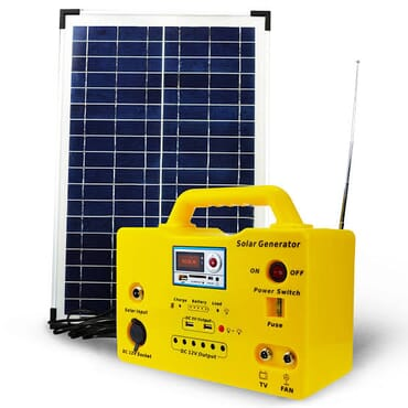 Solar Lighting System (200W)