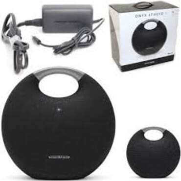 Harman Kardon Onyx Studio 5 Bluetooth Wireless Speaker (Onyx5) (Black)
