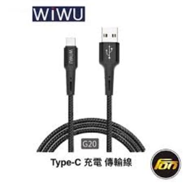 WIWU Gear Lightning 8 pin, Micro-USB, Type-C Data Sync Charging Cable G10, G20, G30