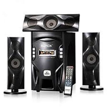 Brand New Djack Powerful X-bass Bluetooth Home Theatre System DJ-F3L