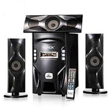 Brand New Djack Powerful X-bass Bluetooth Home Theatre System DJ-F3L