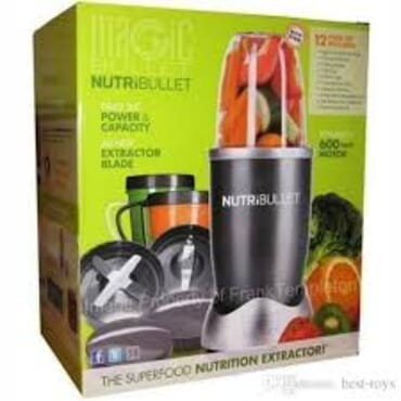 Magic Bullet Nutri Bullet Blender & Mixer System-600watt