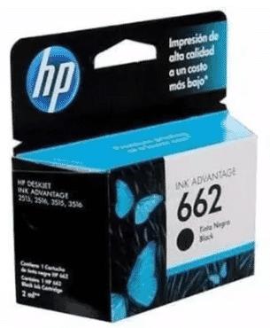 HP 662 Printer Ink Cartridge - Black