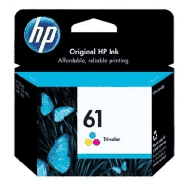 HP 61 Colour Ink Printer Cartridge