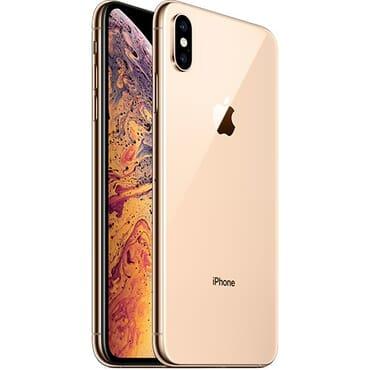 UK USED Apple IPhone  XS Max (4GB RAM, 64GB ROM) IOS 12 (12MP + 12MP)+7MP - gold - Dual SIM (nano-SIM)