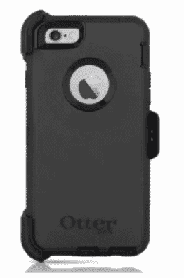 Otter Box Defender Cover Case & Holster for iPhone 7- Black