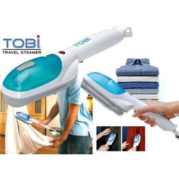 Tobi Hand Held Travel Steamer Iron