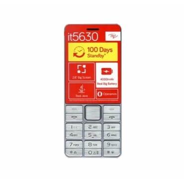 iTel Itel Mobile 5630 | Dual Sim | 8MB ROM + 8MB RAM