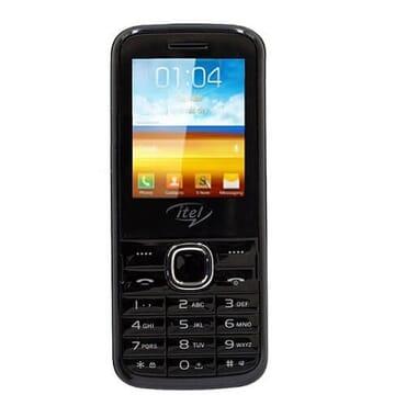 iTel Itel 2060 Dual SIM Phone   Black