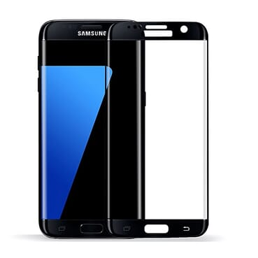 Generic Galaxy S6 Edge Tempered Glass Screen Protector - Black