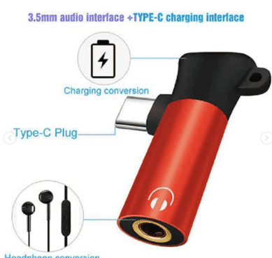 Usb c audio cable charger 2 in 1 type ca 3.5mm jack aux headset adapter usb c 3.5mm converter headset adapter