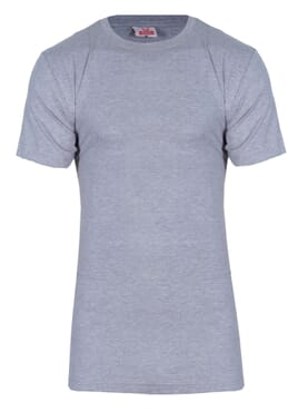 Fashion Grey Round Neck T-Shirt