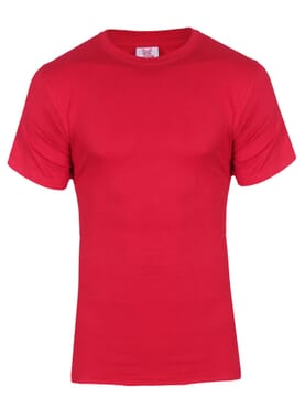 Fashion Red M Round Neck T-Shirt