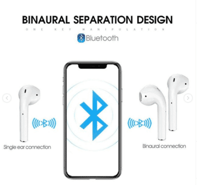 Bass HIFI Stereo Wireless Earbuds Headset