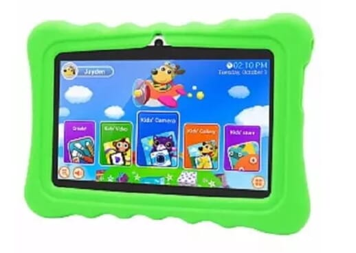 Eduscational Kids Tablet - 16GB, 1GB (Pre-Installed Educational Apps) + Free Case & Gift