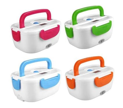 Plastic Electric Lunch Box