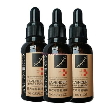 Lavender Skin Repair, Scar/Wound/Burn/Stretch Mark Remover Essence Oil.