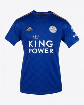LEICESTER HOME JERSEY 2020