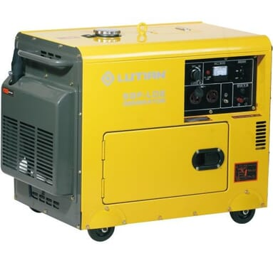 New Lutian 6kva Finger Press Soundproof Diesel Generator