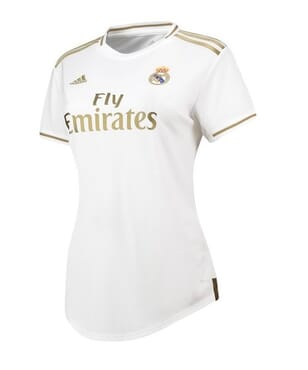 ADIDAS REAL MADRID HOME SHIRT 2019 2020 LADIES