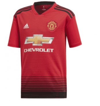 Manchester United Home Jersey 2018/2019