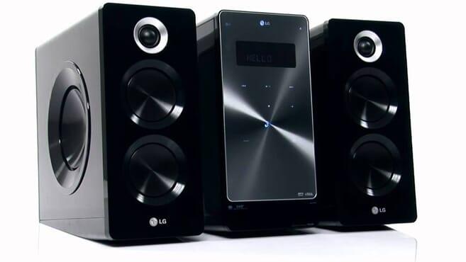 LG CM2640 160W CD Stylish Micro Hi-fi System