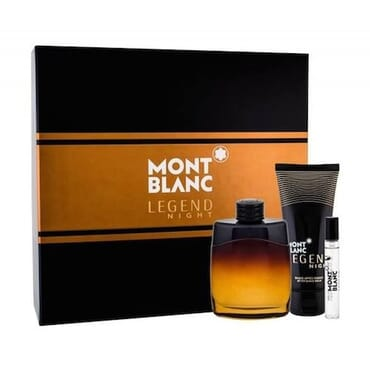 Mont Blanc Legend Night EDP 100ml Gift set For Men