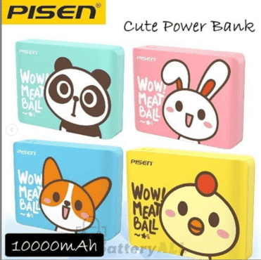 ORIGINAL PISEN POWER BANK EASY POWER IV POWERBANK 10000MAH WOW! MEATBALL