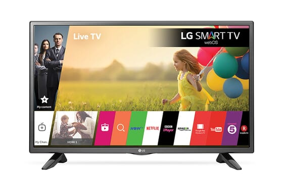 LG 42 Inch Full HD LED Smart TV - 42lb58