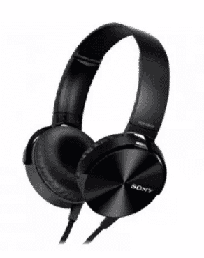 Sony Mega Bass Wired Headphone - Black