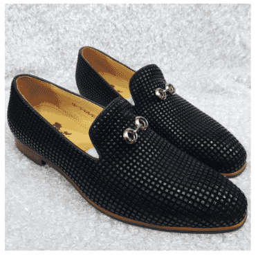 Men's Designer Studded Loafer + A Free Happy Socks