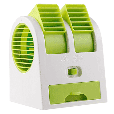 Mini Portable Dual-Port Flexible USB Fan