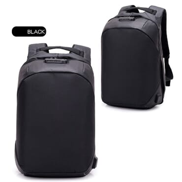 Anti Theft USB Charging Back Pack  Notebook Bag Business Laptop Backpack With Password Security Lock