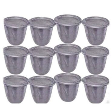 Moi-Moi Plates Cups | Small | 12 Pcs