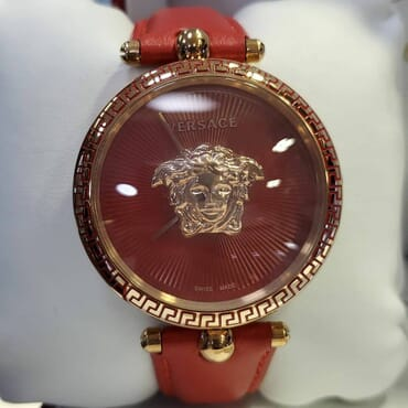 New Palazzo Empire Gold Leather Women's Watch