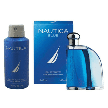 Nautica Blue For EDT 100ml Perfume for Men & 150ml Deodorant